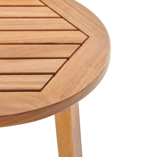 Temple & Webster Saint Barths Wooden Outdoor Side Table