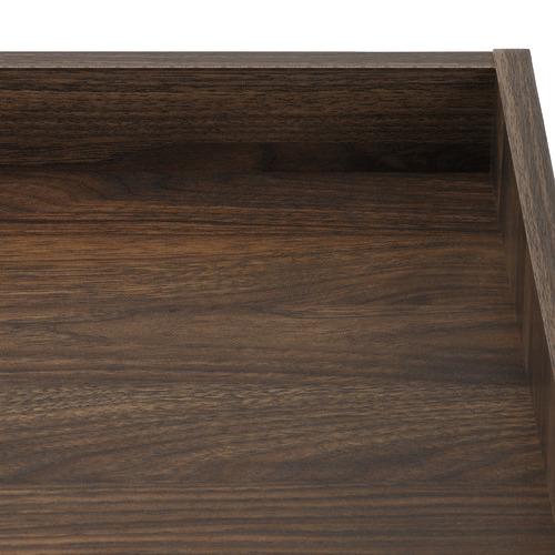 Temple & Webster Walnut Liam Bedside Table