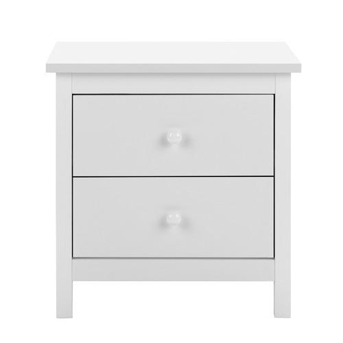 White Noosa Bedside Table