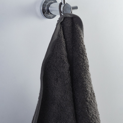 Temple & Webster 6 Piece Charcoal Spa 600GSM Bamboo & Turkish Cotton Towel Set