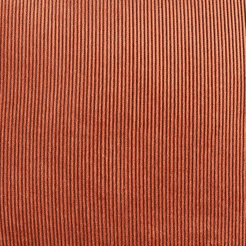 Temple & Webster Rust Corduroy Cushion