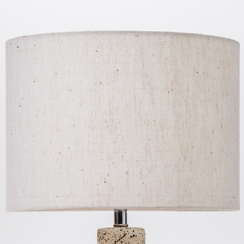 Temple & Webster 42cm White Maya Ceramic Table Lamp