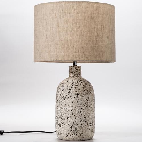 Temple & Webster 57cm White Maya Ceramic Table Lamp