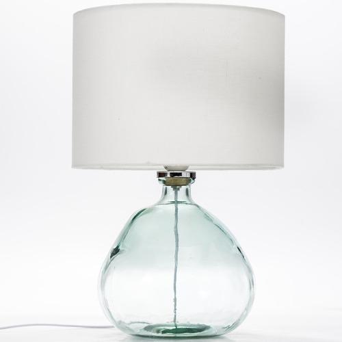 Blue Valancia Glass Table Lamp
