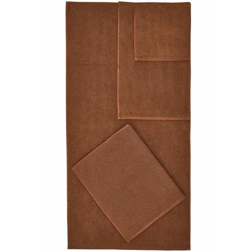 Temple & Webster Cinnamon Willow 600GSM Turkish Cotton Towel Set