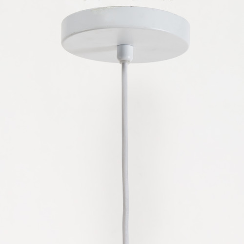 Temple & Webster Eclipse Woven 60cm Tall Pendant Light