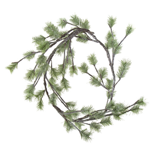 Temple & Webster 165cm Light Up Faux Pine Christmas Garland