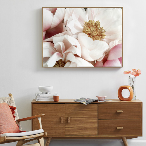 Temple & Webster Bright Blooms Framed Canvas Wall Art