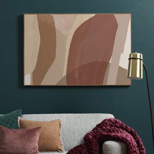 Temple & Webster Elm Autumn Framed Canvas Wall Art