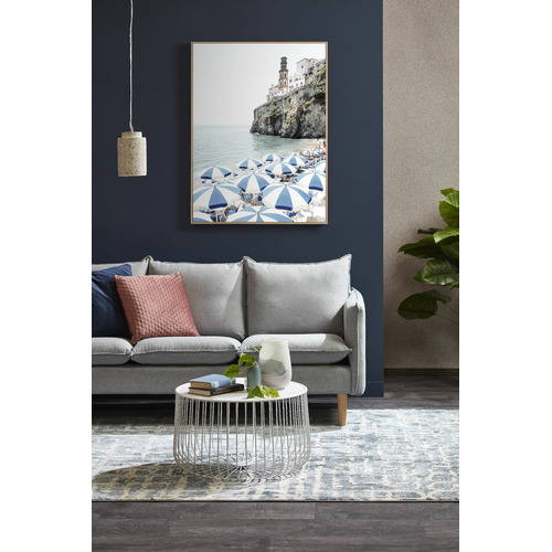 Temple & Webster Amalfi Holiday Framed Canvas Wall Art