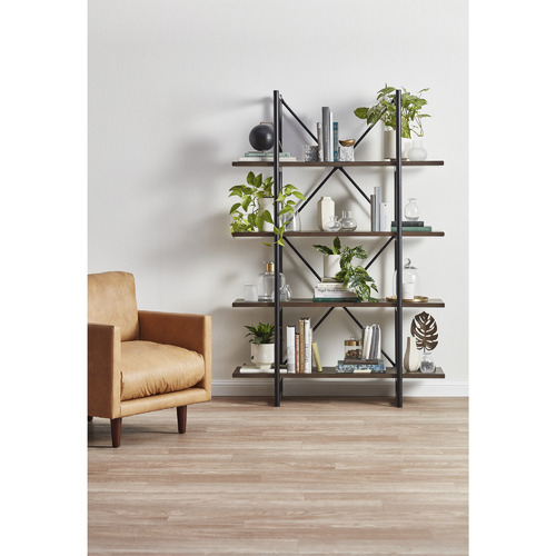 Temple & Webster Odessa Industrial Shelving Unit