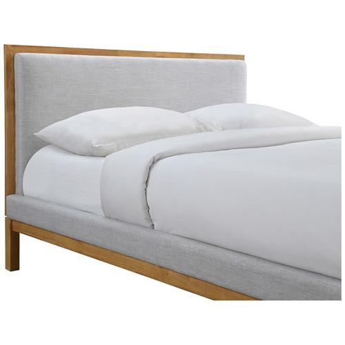Oak & Grey Stella Queen Bed