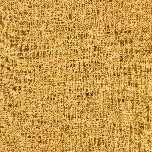 Temple & Webster Mustard Raffa Square Cotton Cushion