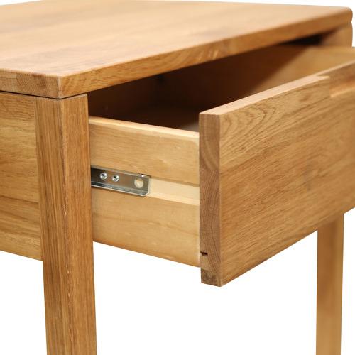 Carvalho 1 Drawer Bedside Table