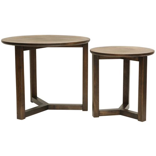 Temple & Webster 2 Piece Olwen Side Table Set