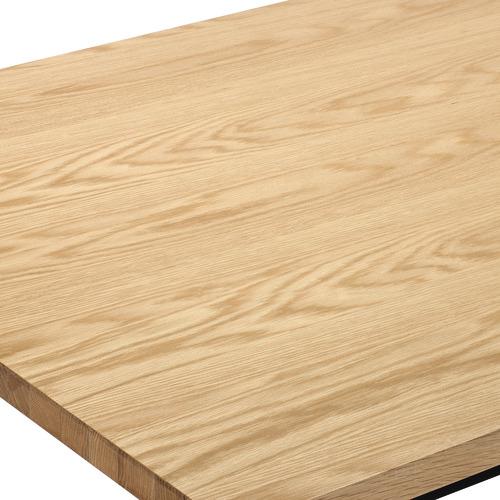 Natural Ski-Leg Dining Table