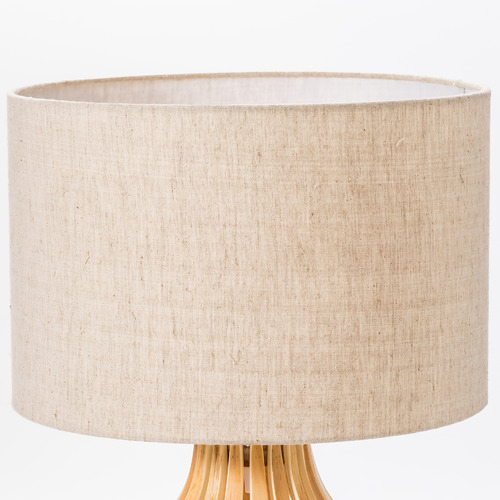 Temple & Webster Bentwood Pine Table Lamp