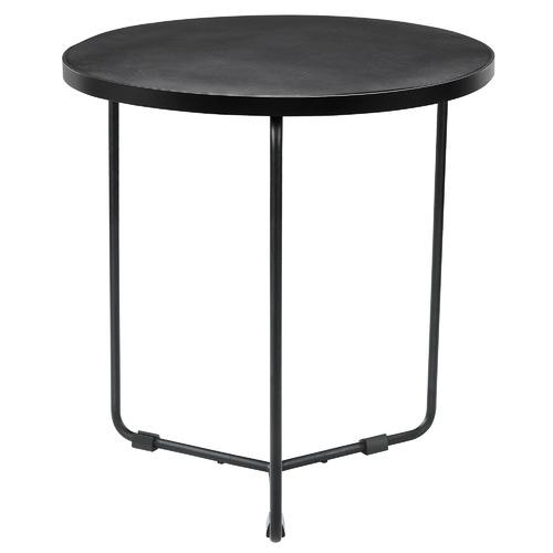 2 Piece Black Elijah Coffee & Side Table Set
