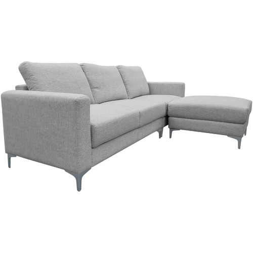 Temple & Webster Alexis 3 Seater Corner Sofa with Ottoman