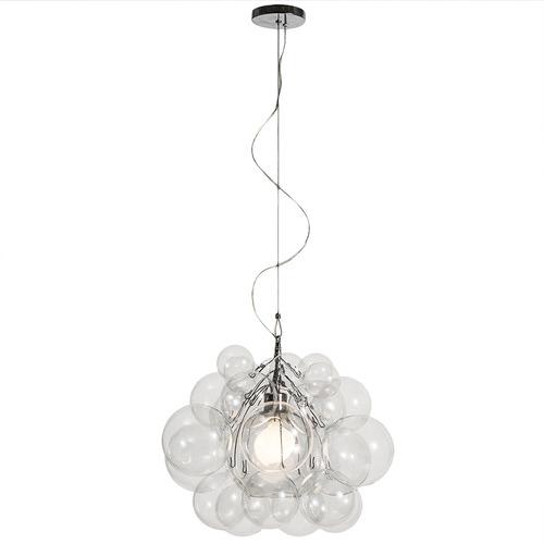 Temple & Webster Bubble Glass 46cm Tall Pendant Light