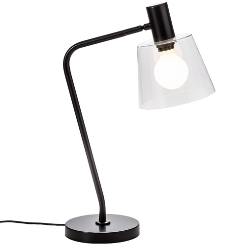 Temple & Webster Black Chicago Table Lamp