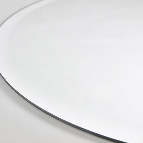 Tate Oval Frameless Wall Mirror
