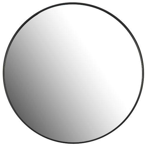 Tate Round Metal Framed Wall Mirror