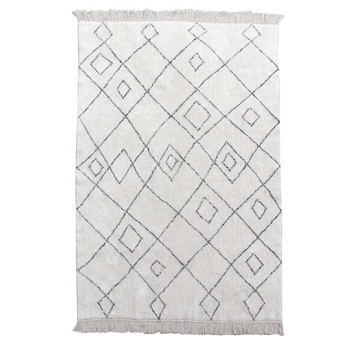 Temple & Webster Luna Cotton Rug