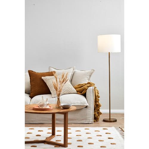 Temple & Webster Gilt Floor Lamp