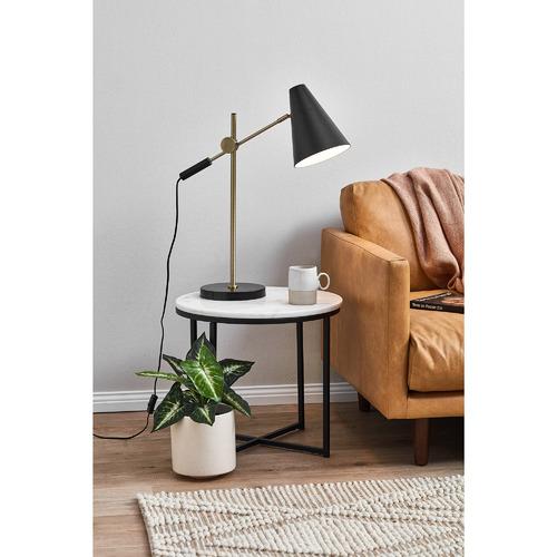 Temple & Webster Black Bond Table Lamp