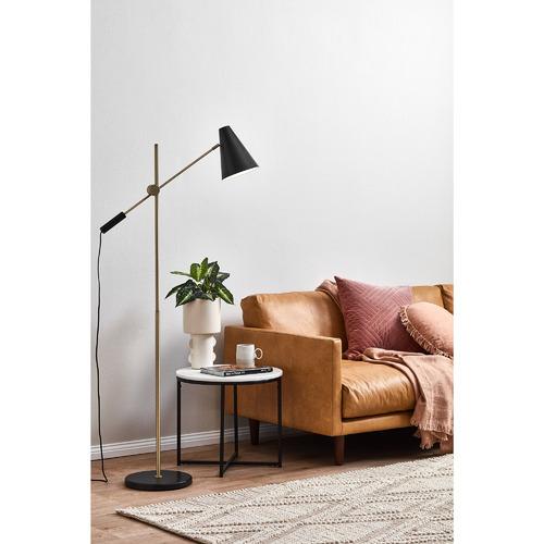 Temple & Webster Black Bond Floor Lamp