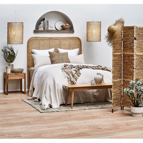 Olwen Solid Oak Timber Bedside Table