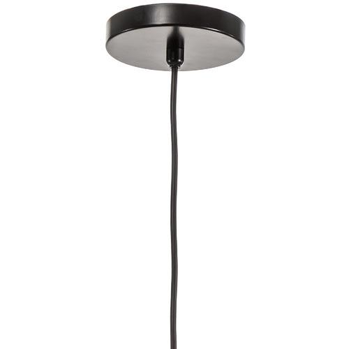 Cosmo Glass & Steel Pendant Light
