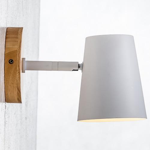 Como Wood & Steel Sconce