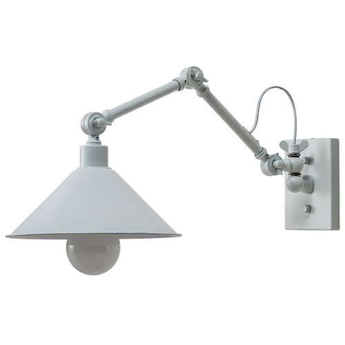 Temple & Webster London Steel Wall Sconce
