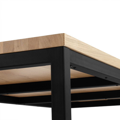 Temple & Webster Natural T-Bar Dining Table