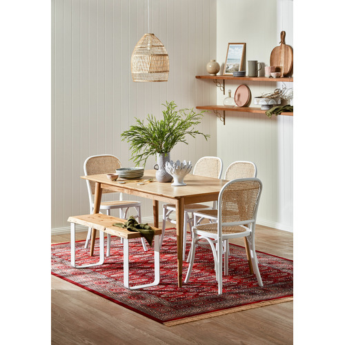Temple & Webster Bella Cross Back Dining Chair