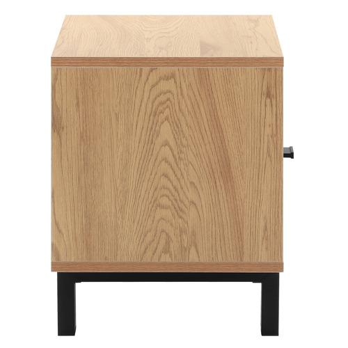 Natural Magnus Wooden Bedside Table