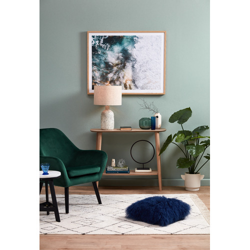 Temple & Webster Turquoise Waters Framed Printed Wall Art
