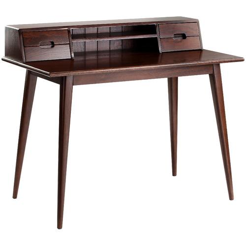 Temple & Webster Oscar Scandinavian Style Oak Desk