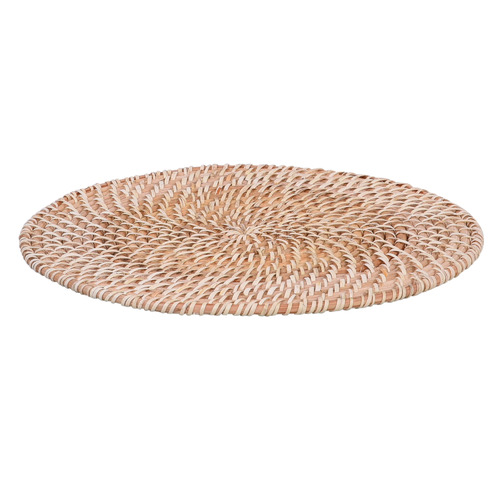 Temple & Webster Harpo Rattan Placemats