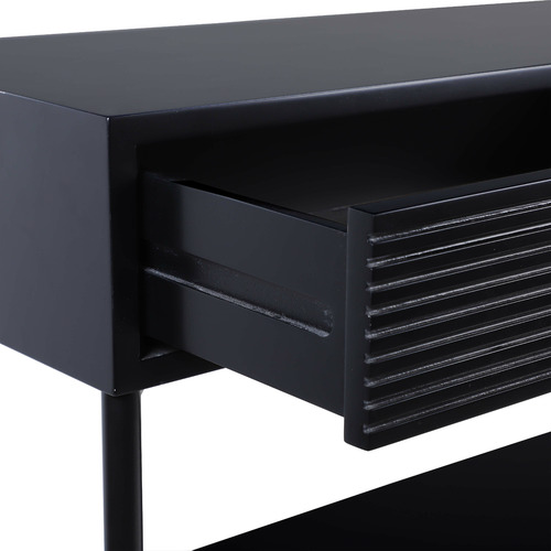 Black Immy Console Table