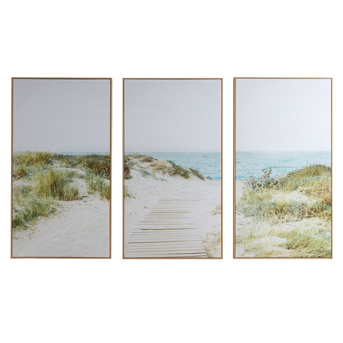Temple & Webster Secret Path Framed Canvas Wall Art Triptych