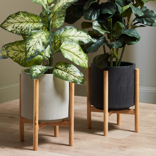 Temple & Webster Coda Plant Pot on Stand