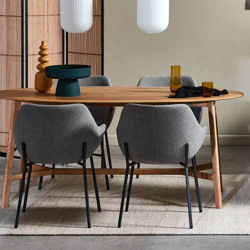 Temple & Webster Savile Tub Dining Chairs
