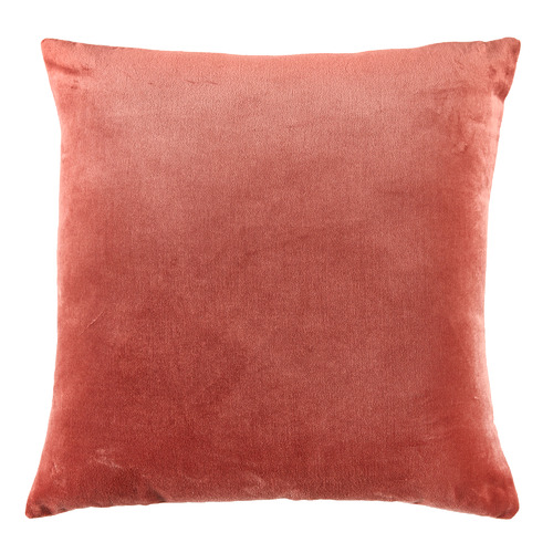 Temple & Webster Rose Minnie Velvet Cushion