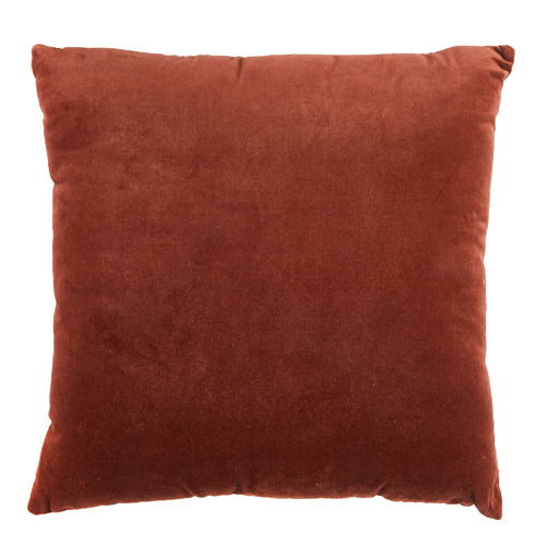 Rust Minnie Velvet Cotton Cushion