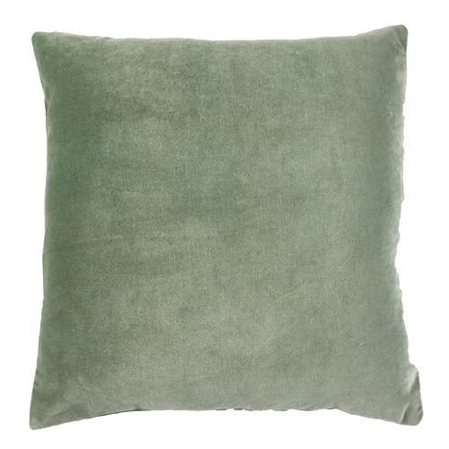 Sage Minnie Velvet Cotton Cushion