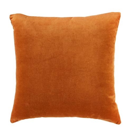 Temple & Webster Caramel Minnie Velvet Cushion