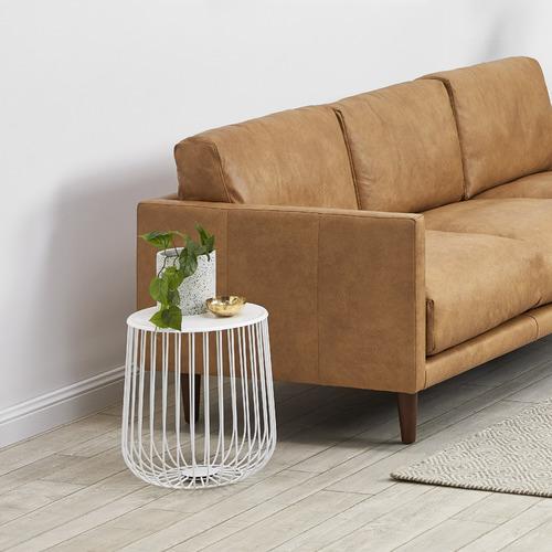 Carson 3 Seater Italian Leather Sofa